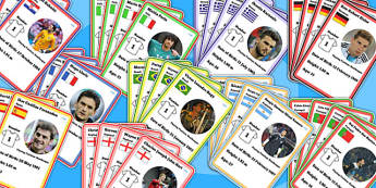 Football Worldcup 2014 Playing Cards - card game, sport