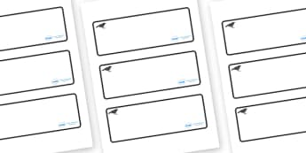 Blackbird Themed Editable Drawer-Peg-Name Labels (Blank) - Themed Classroom Label Templates, Resource Labels, Name Labels, Editable Labels, Drawer Labels, Coat Peg Labels, Peg Label, KS1 Labels, Foundation Labels, Foundation Stage Labels, Teaching La