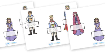 The Princess and the Pea Self Registration - The Princess and the Pea, self registration, register, attendance, prince, queen, princess, pea, castle, fairytale, traditional tale, Hans Christian Andersen, story, story sequencing,