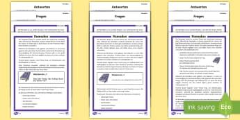 Ramadan Leseverstehen Arbeitsblätter unterschiedliche Schwierigkeitsgrade - Ramadan, Leseverstehen, unterschiedliche Schwierigkeitsgrade, Feiern, Feiertage, Fasten, Fastenzeit,