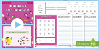 Year 5 Term 1A Week 5 Spelling Pack  - Spelling Lists, Word Lists, Autumn Term, List Pack, SPaG