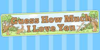 Guess How Much I Love You Display Banner - header, stories, books