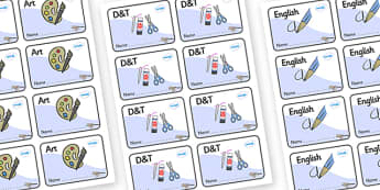 Jay Themed Editable Book Labels - Themed Book label, label, subject labels, exercise book, workbook labels, textbook labels