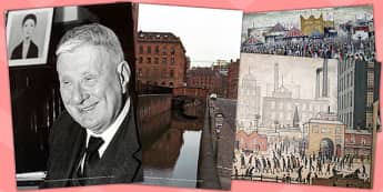 LS Lowry Photo Clip Art Pack - photos, display, visual, displays