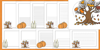 Samhain Page Border Pack
