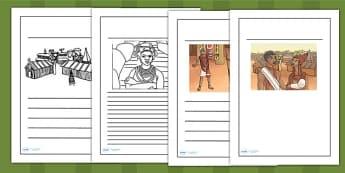 History of Benin Edo Version of Events Story Writing Frames