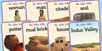 The Indus Valley Display Posters - bronze age, history, indus