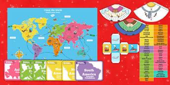 Travel the World Board Game Polish Translation