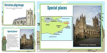 KS1 Christian Pilgrimage Teaching and Task Setting PowerPoint