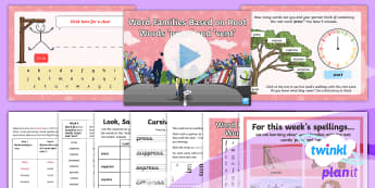 PlanIt Spelling Year 3 Term 3A W6 Word Families Based on Common Words Press and Vent Spelling Pack - Spellings, Year 3, Term 3A, W6, word families, common words, root word, origin, word origin, vent, p