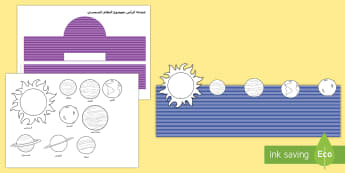 عصابة رأس بموضوع النظام الشمسي - فضاء، كواكب، عصابة رأس، لعب الأدوار، الشمس، النظام الش