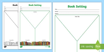 Book Week Setting Y Chart Activity Sheet - worksheet, Setting description, reading, literature, books, stories, escape to everywhere,Australia