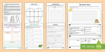 Year 3 First Week Back Activity Pack - first week back, new school year KS2, all about me,new term, new class activities