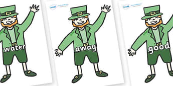 Next 200 Common Words on Leprechauns - Next 200 Common Words on  - DfES Letters and Sounds, Letters and Sounds, Letters and sounds words, Common words, 200 common words
