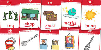 Active Literacy Phonics Programme Stage 2 Posters - display