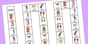 THR Sound Board Game - speech sounds, phonology, articulation, speech therapy, cluster reduction