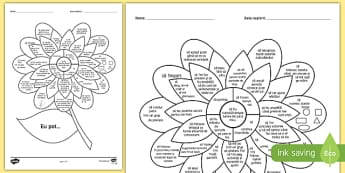 """""""Eu pot"""" - Floarea evaluării pentru copii de 2 3 ani - evaluare, gradinita, educație timpurie, educatie timpurie, română, materiale, evaluări, evaluari"""