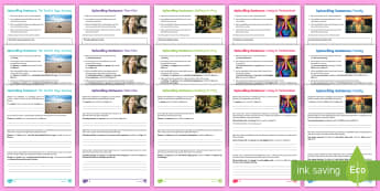 UKS2 Uplevelling Sentences Activity Sheets - Uplevel, Edit And Improve, Editing, Improving, Securing Writing, Year 5, Year 6