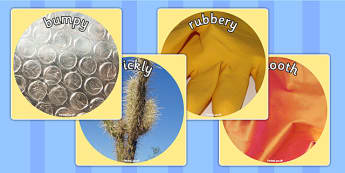 Texture Adjectives Display Photo Cut Outs - texture, display