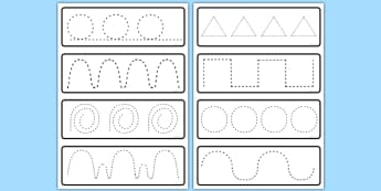 Pencil Control Activity Cards - pencil control, activity, cards
