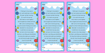 End of Year Poem Editable Bookmarks - End of Year Poem Editable Bookmarks - end, year, poem, printout, transition, trasition, bump up day,