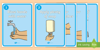 Washing Your Hands Display Posters - Wash hands, hands, washing, toilet, drinking, eating, nose, clean, healthy, area sign