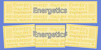 Energetics Display Banner - display banner, display, banner, energetics