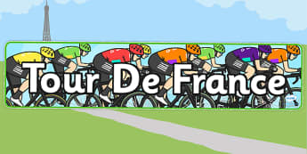 Tour de France Display Banner - le tour, geography, display header