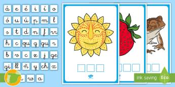 Encontrar las letras: La letra S - juego lectoescritura, juego lecto, juego didáctico, lecto, sonidos, lecto-escritura, fonemas, sonid