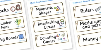 Giraffe Themed Editable Maths Area Resource Labels - Themed maths resource labels, maths area resources, Label template, Resource Label, Name Labels, Editable Labels, Drawer Labels, KS1 Labels, Foundation Labels, Foundation Stage Labels, Teaching Lab