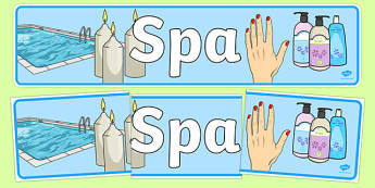 The Spa Role Play Banner - spa, role play, the spa, health and wellbeing, banner