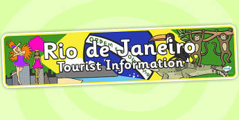 Rio de Janeiro Tourist Information Office Role Play Banner - rio de janeiro, tourist information, role play, rio de janeiro role play rio de janeiro banner