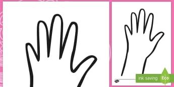 Diwali Hand Outline Activity  - Diwali, pattern, hand, outline, draw, hand-eye, fine motor skills