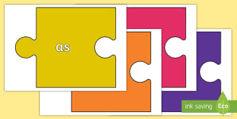 Conjunctions On Jigsaw Pieces - Connectives, cohesive device