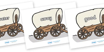 Next 200 Common Words on Wagons - Next 200 Common Words on  - DfES Letters and Sounds, Letters and Sounds, Letters and sounds words, Common words, 200 common words