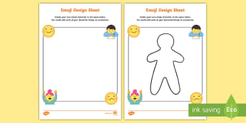 KS1 Emoji Design Activity Sheets - Requests KS1, emoji, character, design, draw, drawing, ks1 drawing, ks1 design, computing, icon, Use, moji