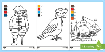 Pirate Themed Phase 3 Phonic Words Activity - pirate, phase 3, phase three, words, activity, phonics words, phonics