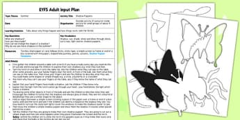 Shadow Puppets EYFS Adult Input Plan and Rresource Pack - puppet, role play