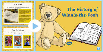 The History of Winnie-the-Pooh PowerPoint