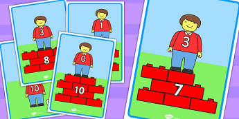 Toy Figure Number Bond Display Posters to 10 - toys, numeracy