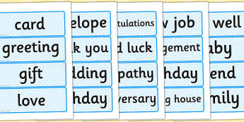 Card Shop Role Play Word Cards - card, shop, role-play, word