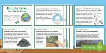Dia da Terra, cartões de debate - dia da terra, 22 de abril, alterações climáticas, aquecimento global. geografia, cidadania global