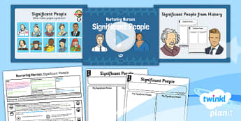 History: Nurturing Nurses: Significant People KS1 Lesson Pack 1