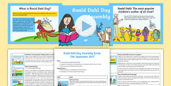 Roald Dahl Day Assembly Pack