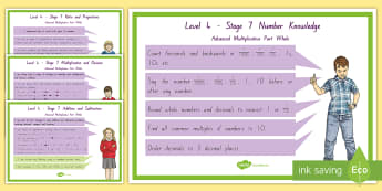 Stage 7 Maths Display Poster - nz maths, stage 7, numeracy project, advanced multiplicative part whole, level  4 Maths, NZCM,