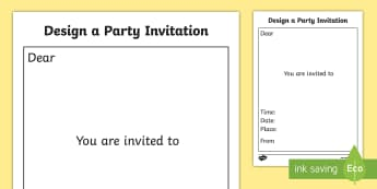 Party Invitation Templates - party invitation templates, design