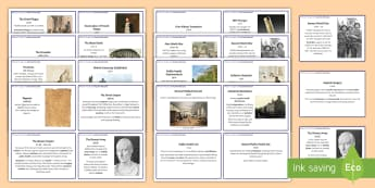 Medicine through Time: Key Event Fact Cards - medicine through time, gcse, history, thematic study, ancient greek, ancient egypt, plague, bubonic,