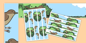 Nightingale-Themed A3 Display Borders - nightingale, a3, display borders, display, borders
