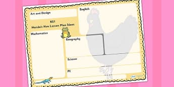 Story Lesson Plan ideas KS1 to Support Teaching on Handa's Hen - planning, lessons