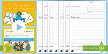 Pack de recursos: Escritura argumentativa - Los 'Spinners' - spinner, spinners, argumentativo, argumentativa, escritura, carta, director, directora, escribir, pr